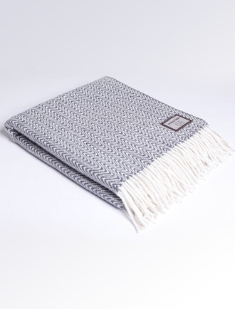 Merino Throw - Animal Print