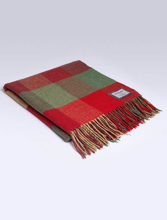 Lambswool Throw - Heritage Check