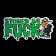Stoned As Large 'Sticker