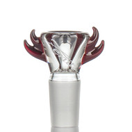 Zenit Glass Cone 18.8mm Horns Red
