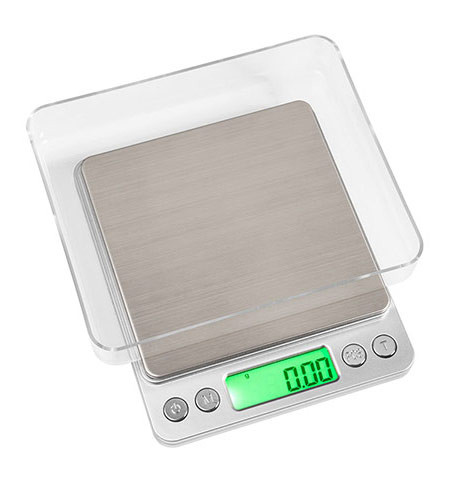 On Balance NV-2000 Mini Table Top Scales 2000g x 0.1g