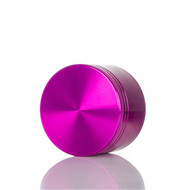 SPLIFF Purple Aluminium Grinder 50mm - 4 part
