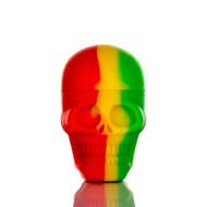 Skull Silicone Container - Rasta