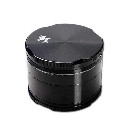 Black Leaf Edge Aluminium Grinder 55mm - 4 part