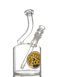 ZOB 110mm Bubbler - Black and Yellow