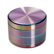 Oil Slick Aluminium Grinder 63mm - 4 part