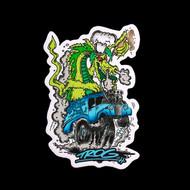 TROG Sticker - Drag-On