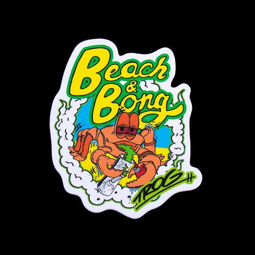 TROG Sticker - Beach & Bongs