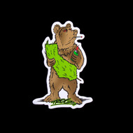 TROG Sticker - Cali Bear