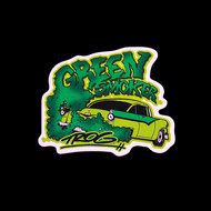 TROG Sticker - Green Smoker