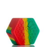 Beehive Silicone Container - Rasta
