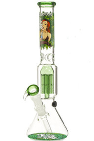 Dope Bros Tree Perc Beaker - Pretty Lady