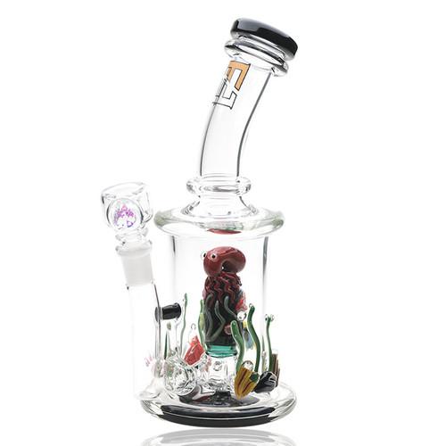 Empire Glass Mini Rig - Aquatic