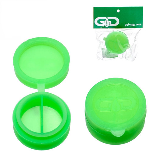 Grace Glass Silicone Container 40mm - Green