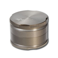 Black Leaf 'Granite' Aluminium Grinder 63mm - 4 part