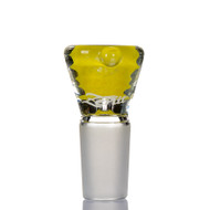 Zenit Glass Cone 18.8mm Frit - Yellow