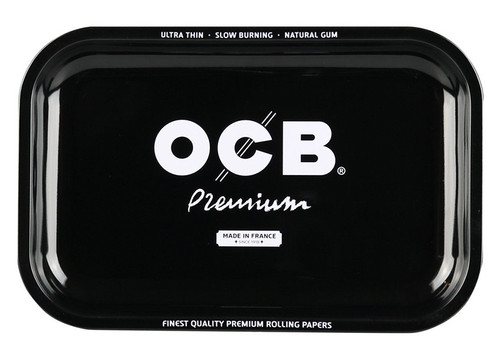 OCB Rolling Tray Medium - Black.