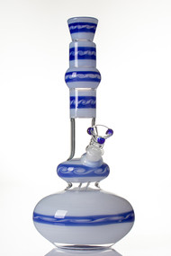 HVY Mini Wave Genie Bottle - White/Blue.