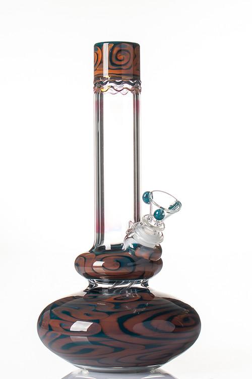 HVY Worked Bubble Beaker - DSB.