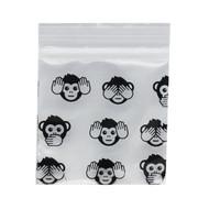 Ziplock Bags 50 X 50 Monkey.