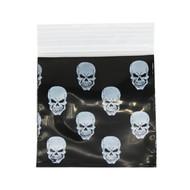 Ziplock Bags 50 X 50 Skulls.