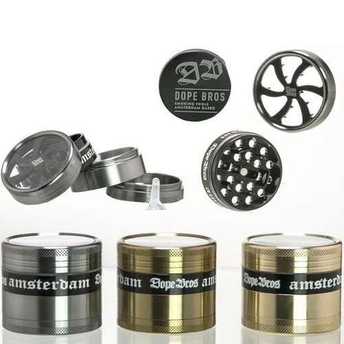 Dope Bros Grinder 63mm 4 part - all colours example.