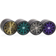 Dope Bros Lightning Grinder 63mm 4 part - colour range.