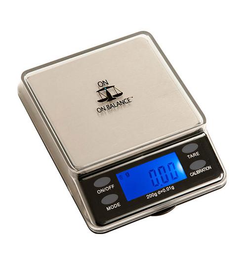 On Balance MTT-200 Mini Table Top Scales 200g X 0.01g