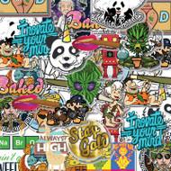 Mixed Sticker Pack x 5.