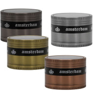 Grace Glass Amsterdam Grinder 63mm 4 part - all colours example.