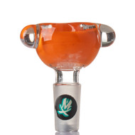 Mathematix Frit Bowl 14mm - Orange.