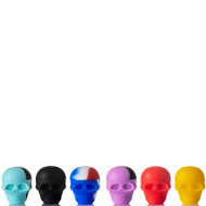 Small Skull Silicone Container - example of colours.
