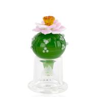 Empire Glass Bubble Carb Cap - Peyote.