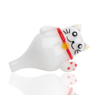 Empire Glass Bubble Carb Cap - Zen Kitty.