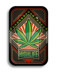 FIRE-FLOW Rolling Tray - Highlife.