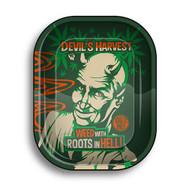 FIRE-FLOW Mini Rolling Tray - Devil's Harvest.
