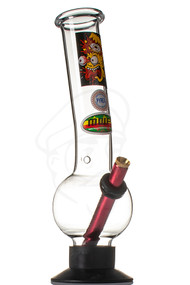 MWP Glass Bong 30cm - Crazy Brain.