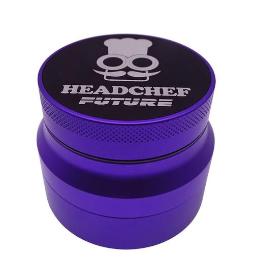 Headchef Future Grinder 4 part - Purple.