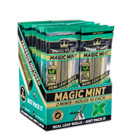 King Palm Mini 2 Pack Magic Mint - Full box. **Listing is only for one packet**