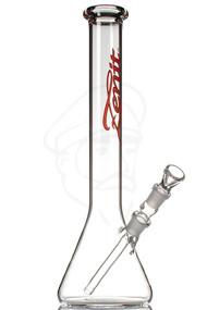 Zenit 40cm Beaker Bong - Red.