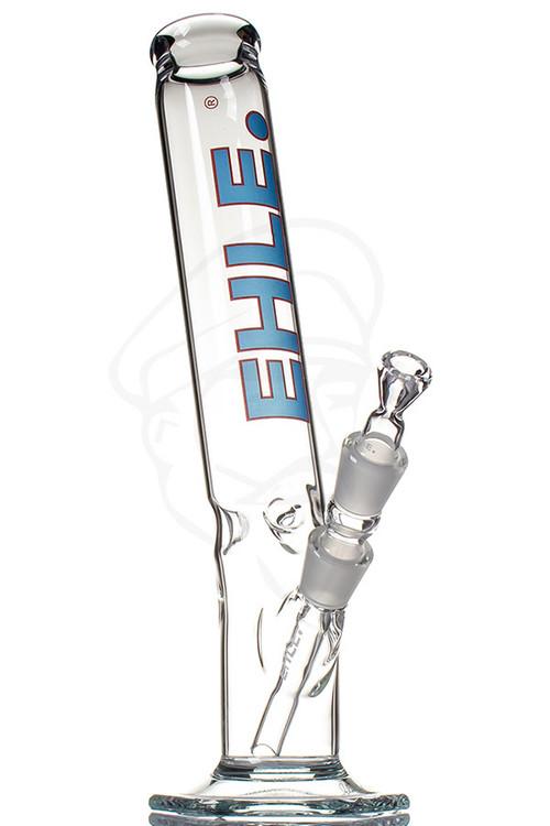 EHLE 500ml Bent Ice Glass Bong - Blue.