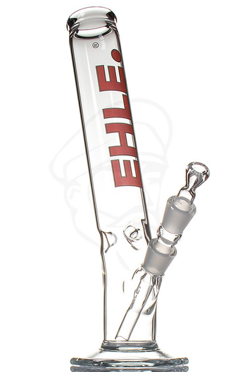 EHLE 500ml Bent Ice Bong - Red.