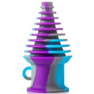 Silicone Mouthpiece - Blue/Grey/Purple.