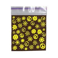Ziplock Bags 50 X 50 Hippie.