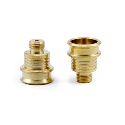Extra Large Screw in Brass Cone
