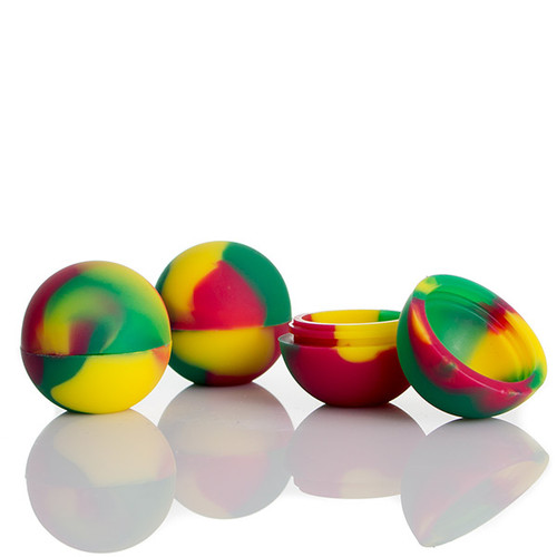 Silicone Ball Concentrate Container.