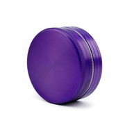 SPLIFF Purple Aluminium Grinder 63mm - 2 part