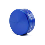 SPLIFF Blue Aluminium Grinder 63mm - 2 part