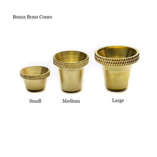 Bonza Brass Cone size guide