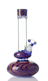 HVY Worked Bubble Beaker Hyacinth